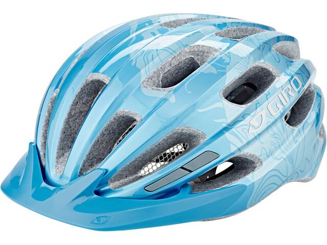 Giro Register MIPS Cykelhjelm, ice blue/floral
